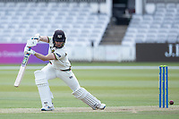 James Bracey, Gloucestershire CCC drives to the point boundary for four during Middlesex CCC vs Gloucestershire CCC, LV Insurance County Championship Group 2 Cricket at Lord's Cricket Ground on 7th May 2021