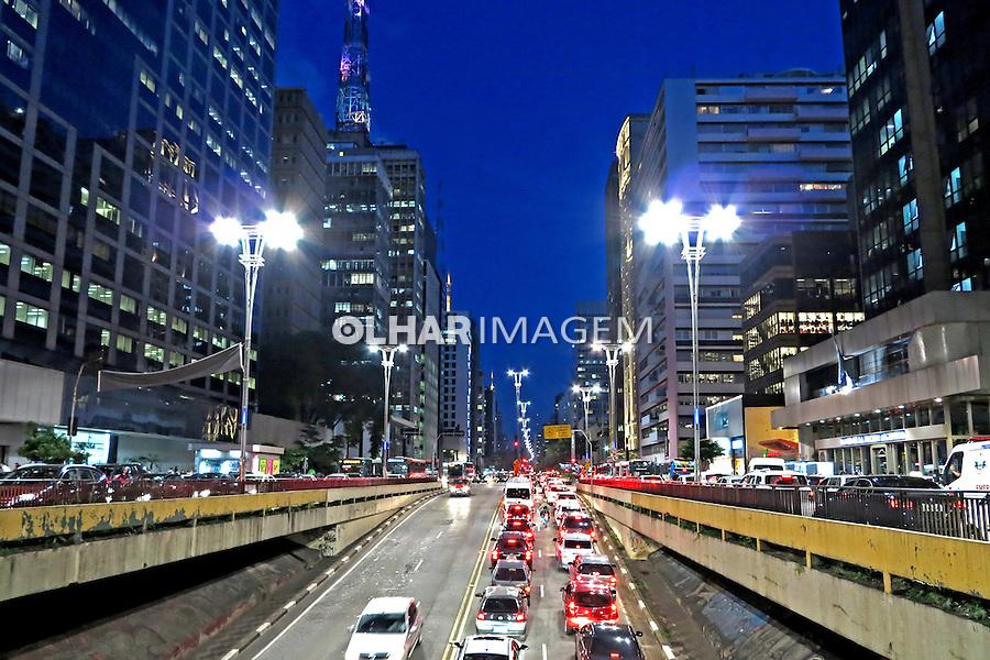 Predios na Avenida Paulista. Sao Paulo. 2015. foto de Juca Martins.