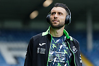 LEEDS, ENGLAND - AUGUST 31: Borja Baston of Swansea City arrives prior to the game during the Sky Bet Championship match between Leeds United and Swansea City at Elland Road on August 31, 2019 in Leeds, England. (Photo by Athena Pictures/Getty Images)
