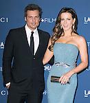 LOS ANGELES, CA - NOVEMBER 02: Kate Beckinsale and Len Wiseman arrives at  LACMA 2013 Art + Film Gala held at LACMA  in Los Angeles, California on November 02,2012                                                                               © 2013 Hollywood Press Agency