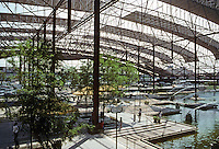 St. Louis: Union Station Recycled, Renovated. Helmut, Obata and Kassabaum, Architect.  a 16,000 sq. ft. Festival Market. Photo '88.