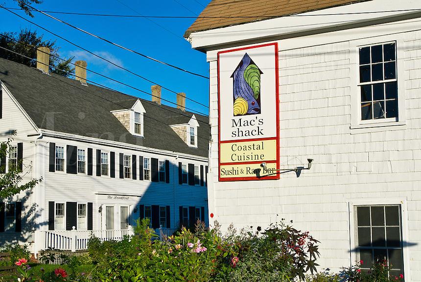 Seafood restaurant, Wellfleet, Cape Cod, Massachusetts, , USA