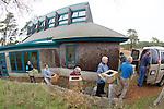 Bob Prescott & Other Volunteers Transporting Stranding Sea Turtles In Boxes, Welfleet Bay Wildlife Sanctuary, Audubon