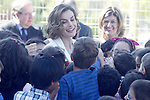 Queen Letizia of Spain attends the opening of 2015-2016 scholarship course at 'Marques de Santillana' school on September 21, 2015 in Palencia, Spain. September 21,2015. (ALTERPHOTOS/Acero)