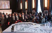 20150615 ROMA-CRONACA: STADIO DELLA ROMA, PRESENTAZIONE PROGETTO DI RIGENERAZIONE DI TOR DI VALLE