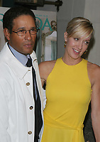 BRYANT GUMBEL AND WIFE HILLARY 2005<br /> Photo By John Barrett/PHOTOlink