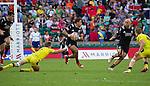 Isaac Te Tamaki. The All Blacks Sevens beat Australia 24-10. London, England. Photo: Marc Weakley