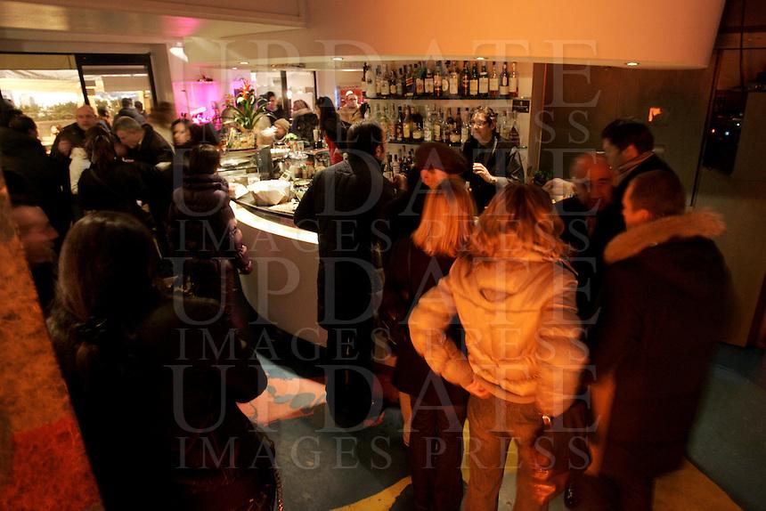 Il locale notturno Dolce Vita a Firenze<br /> Nightlife Dolce Vita in Florence.<br /> UPDATE IMAGES PRESS/Riccardo De Luca