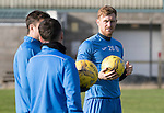 St Johnstone Training….28.10.16<br />Liam Craig pictured during training this morning at McDiarmid Park ahead of tomorrow's game against Partick Thistle.<br />Picture by Graeme Hart.<br />Copyright Perthshire Picture Agency<br />Tel: 01738 623350  Mobile: 07990 594431