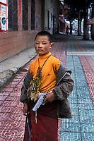 Monk in Litang, Kham, Eastern Tibet, 2005