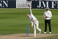 Somerset bowler, Jack Leach during Surrey CCC vs Somerset CCC, LV Insurance County Championship Group 2 Cricket at the Kia Oval on 13th July 2021