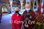 Helen Lacey and Michael O'Neill, Tralee at Saint John's church in Tralee on Tuesday evening.