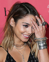 HOLLYWOOD, LOS ANGELES, CA, USA - SEPTEMBER 26: Vanessa Hudgens arrives at the Benefit Cosmetics: Wing Woman Weekend Kick-Off Party held at the Benefit Tattoo Parlor on September 26, 2014 in Hollywood, Los Angeles, California, United States. (Photo by Xavier Collin/Celebrity Monitor)