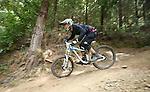2015 Bikefest Nelson Top Gun Downhill race Broken Axe Sharlands Creek, Nelson Saturday 31st Janurary 2015. Photo: Evan Barnes/www.shuttersport.co.nz
