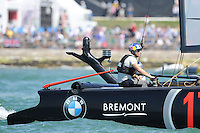 Jimmy Spithill, JULY 23, 2016 - Sailing: Jimmy Spithill (AU) Skipper and helmsman of Oracle Team USA between races during day one of the Louis Vuitton America's Cup World Series racing, Portsmouth, United Kingdom. (Photo by Rob Munro/Stewart Communications)
