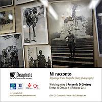 Mi racconto, workshop .Deaphoto-Firenze.Upter-Roma..