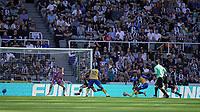 28th August 2021; St James Park, Newcastle upon Tyne, England; EPL Premier League football, Newcastle United versus Southampton; Moussa Djénépo of Southampton has a shot blocked