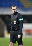 St Johnstone v Motherwell…15.12.18…   McDiarmid Park    SPFL<br />Referee Alan Muir<br />Picture by Graeme Hart. <br />Copyright Perthshire Picture Agency<br />Tel: 01738 623350  Mobile: 07990 594431
