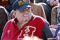 Several Hoover High '43 classmates were present during a Memorial service held for Coach Bennie Eden at the Point Loma High School Football stadium that was recently renamed in his honor, Saturday February 23 2008.