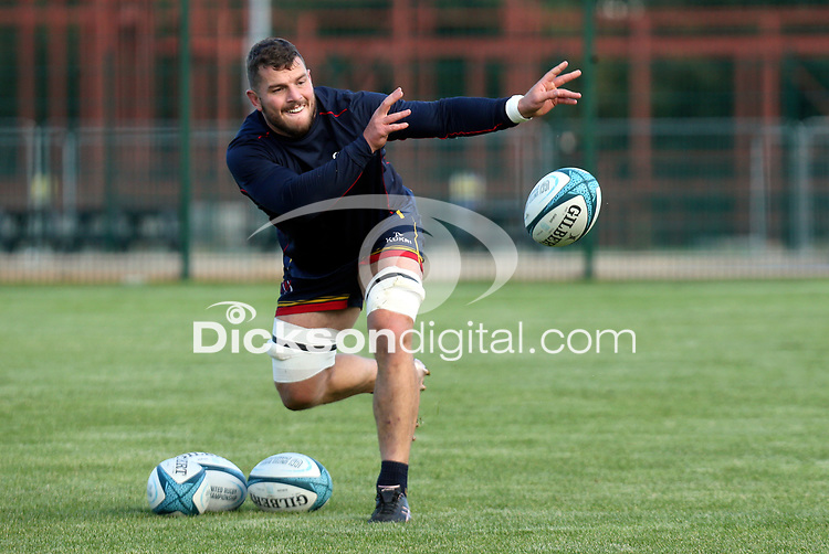 Tuesday 5th October 2021<br /> <br /> Sean Reidy during Ulster Rugby training at Newforge Country Club, Belfast, Northern Ireland. Photo by John Dickson/Dicksondigital