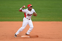Illinois State Redbirds Dennis Colon (1) during a game against the Bowling Green Falcons on March 11, 2015 at Chain of Lakes Stadium in Winter Haven, Florida.  Illinois State defeated Bowling Green 8-7.  (Mike Janes/Four Seam Images)