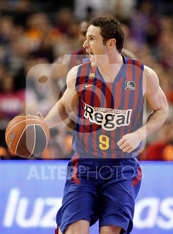 FC Barcelona Regal's Marcelinho Huertas during Spanish Basketball King's Cup Final match.February 19,2012. (ALTERPHOTOS/ALFAQUI/Acero)