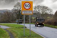 2020 12 10 Cloescedi Farm near Llanspyddid in mid Wales, UK