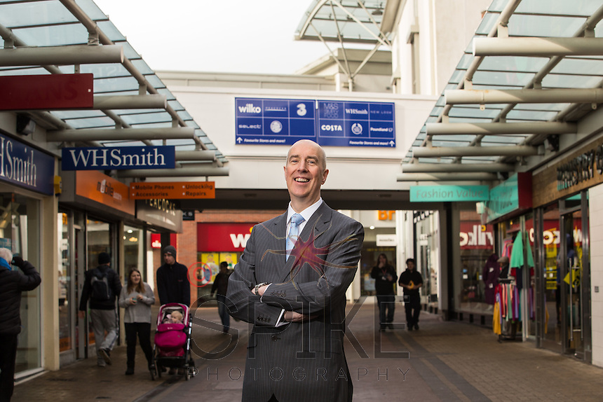 David Aunins, Centre Manager - The Priory Shopping Centre, Worksop