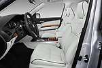 Front seat view of 2017 Acura MDX Sport Hybrid SH-AWD Advance Package 5 Door SUV front seat car photos