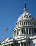 The United States Capitol is among the most symbolically important and architecturally impressive buildings in the nation. It has housed the meeting chambers of the House of Representatives and the Senate for two centuries. The Capitol, which was started in 1793, has been through many construction phases. It stands today as a monument to the American people and their government.<br />The Building is an  example of 19th-century neoclassical architecture. Washington, D.C. March 20, 2008