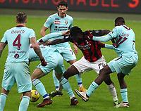 Milano  09-01-2021<br /> Stadio Giuseppe Meazza<br /> Campionato Serie A Tim 2020/21<br /> Milan - Torino<br /> nella foto:Franck Kessie                                                          <br /> Antonio Saia Kines Milano