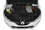 Car Stock 2020 Renault Megane-Grandtour Intens 5 Door Wagon Engine  high angle detail view