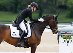 April 23, 2021: #56 FRH Butt's Avondale and rider Anna Siemer from Germany in the 5* Dressage  at the Land Rover Three Day Event at the Kentucky Horse Park in Lexington, KY on April 23, 2021.  Candice Chavez/ESW/CSM