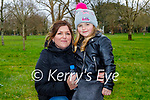 Enjoying a stroll in the Tralee town park on Sunday, l to r: Jean O'Shea and Layla McCannon.