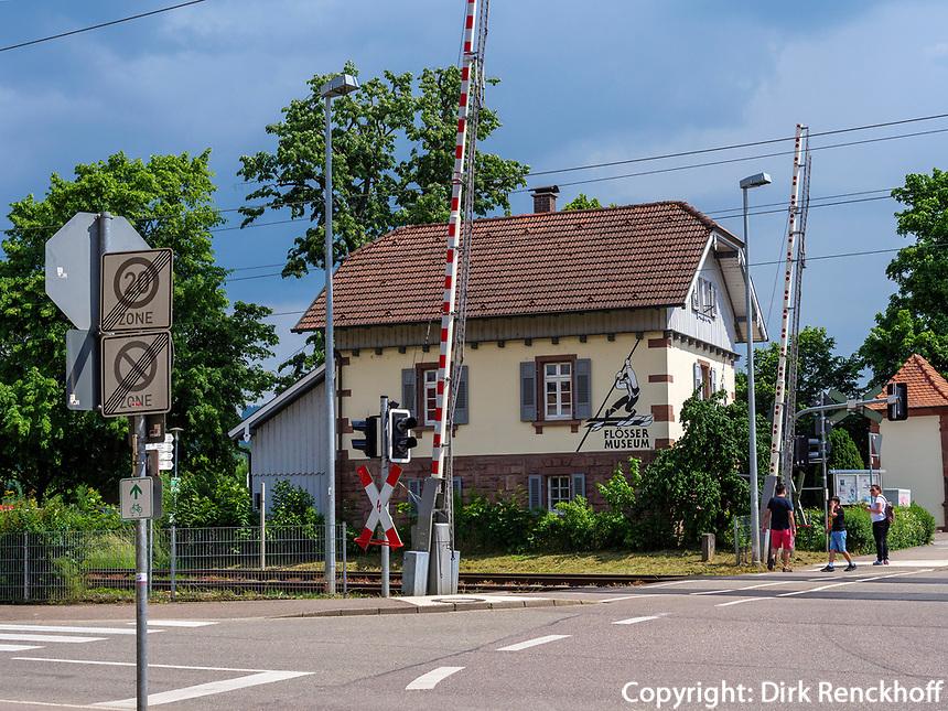 Flößermuseum in Gengenbach, Ortenaukreis, Baden-Württemberg, Deutschland, Europa<br /> rafter museum in Gengenbach, Ortenaukreis, Baden-Wuerttemberg, Germany, Europe