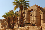 Temples of Karnak, Great Hypostyle hall, view from outside