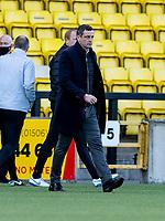 20th March 2021; Tony Macaroni Arena, Livingston, West Loathian, Scotland; Scottish Premiership Football, Livingston versus Hibernian; Jack Ross Hibernian Manager at full time