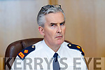 Superintendent Flor Murphy at the Joint Policing Committee meeting at County Buildings, Tralee on Friday.