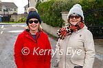 Enjoying a stroll in Ballybunion on Saturday, l to r: Norma Mason and Geraldine Redden.
