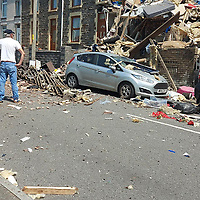2020 06 24 Gas Explosion in Seven Sisters, Neath Port Talbot, Wales, UK.