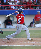 Erick Aybar / Dominican Republic - 2009 Caribbean Series, Mexicali..Photo by:  Bill Mitchell/Four Seam Images