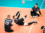 Bryce Foster, Jesse Ward, and Darek Symonowics, Lima 2019 - Sitting Volleyball // Volleyball assis.<br />