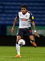 Bolton Wanderers' Jamie Mascoll breaks <br /> <br /> Photographer Andrew Kearns/CameraSport<br /> <br /> EFL Papa John's Trophy - Northern Section - Group C - Bolton Wanderers v Newcastle United U21 - Tuesday 17th November 2020 - University of Bolton Stadium - Bolton<br />  <br /> World Copyright © 2020 CameraSport. All rights reserved. 43 Linden Ave. Countesthorpe. Leicester. England. LE8 5PG - Tel: +44 (0) 116 277 4147 - admin@camerasport.com - www.camerasport.com