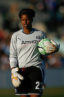 Goalkeeper Karina LeBlanc (23) of the Los Angeles Sol. The Los Angeles Sol defeated Sky Blue FC 2-0 during a Women's Professional Soccer match at TD Bank Ballpark in Bridgewater, NJ, on April 5, 2009. Photo by Howard C. Smith/isiphotos.com