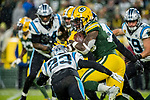 Green Bay Packers against the Carolina Panthers during a regular season game at Lambeau Field in Green Bay on Sunday, November 10, 2019.