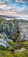 Dolomite Point in Punakaiki, Paparoa National Park, West Coast, Buller Region, New Zealand, NZ
