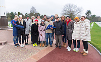 Normandy, France - January 16, 2019:  The USWNT visited Omaha Beach and the Normandy American Cemetery along with a group of veterans from the Greatest Generations Foundation.