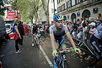 Christian Meier (CAN/Orica-GreenEDGE) after the finish<br /> <br /> 2014 Tour de France<br /> stage 15: Tallard - Nîmes (222km)