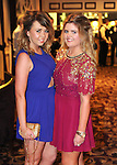 Aisling Murphy and Alice Lynch pictured during Éire Óg GAA's medal presentation night at the Auburn Lodge Hotel in Ennis. Photograph by Declan Monaghan