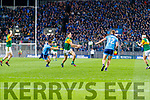 David Clifford, Kerry in action against  David Byrne, Dublin during the Allianz Football League Division 1 Round 1 match between Dublin and Kerry at Croke Park on Saturday.